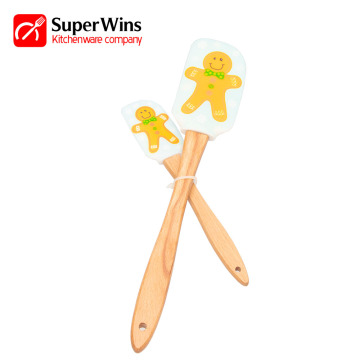 Eco-friendly High Quality Silicone Spatula Set