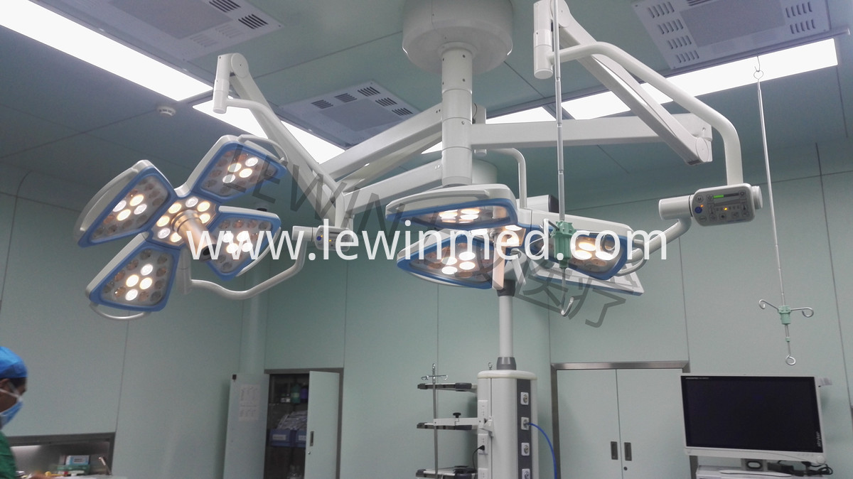 Led shadowless operation lamp