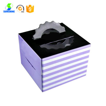 take away handle cake packaging