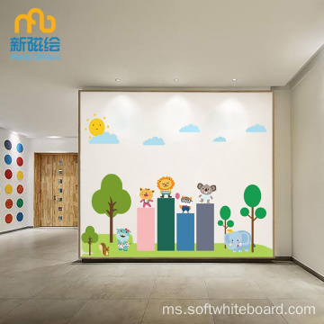Sekolah Kid Decoration White Board Magnetic