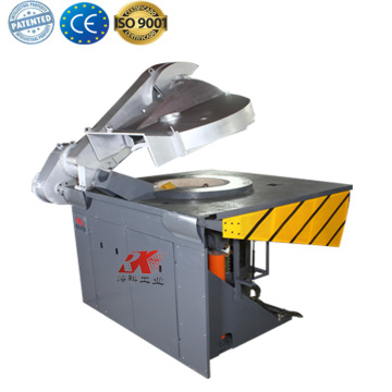 induction metal steel shell furnace for aluminum melting