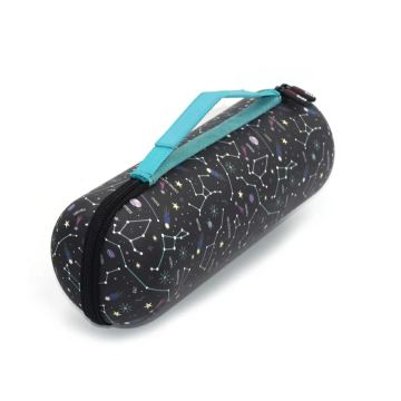 Black Portable Starry EVA Speaker Case for Outdoor