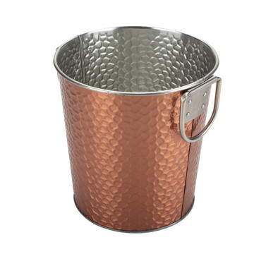 Rose Gold Embossed Bucket