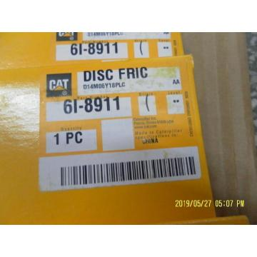 CAT 3116 Engine parts 6I 8911 DISC-FRICTION CAT Spare Parts