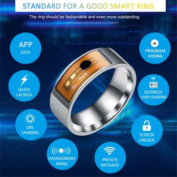 NFC Smart Ring Waterproof Wearable Connect Smart Ring For Android Windows NFC Phone Smart Accessories Wearable Devices