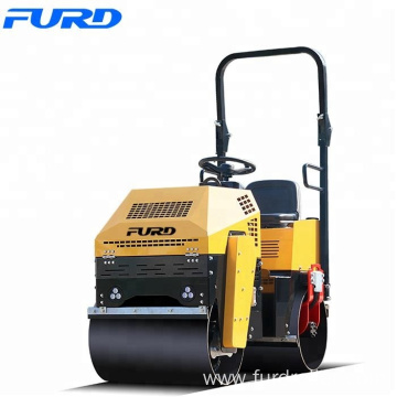 1 ton Asphalt Roller for Sale Double Drum Vibratory Road Roller FYL-880
