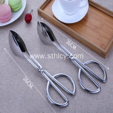Stainless Steel Scissors Food Clip