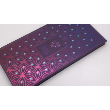 Gradation purple magnetic make up palette