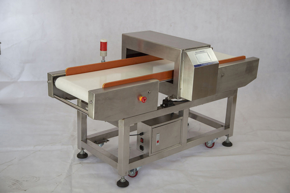 metal detector for biscuit industry