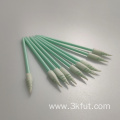 Headset Cleaning Spiral Pointed Cleanroom Foam Swab