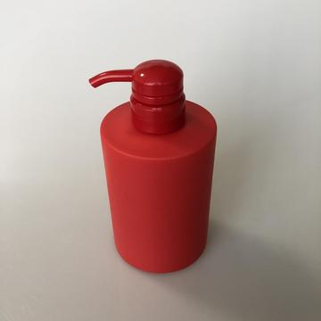 500ml HDPE round bottle with pump