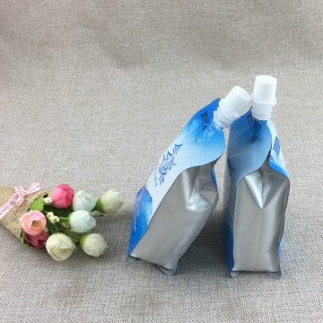 Drinking water nozzle bag juice packaging for beverage