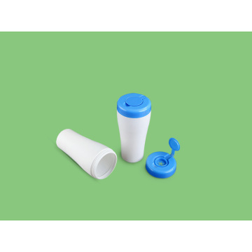 Hdpe Tissue Plastic Canister Containers For Wet Wipe