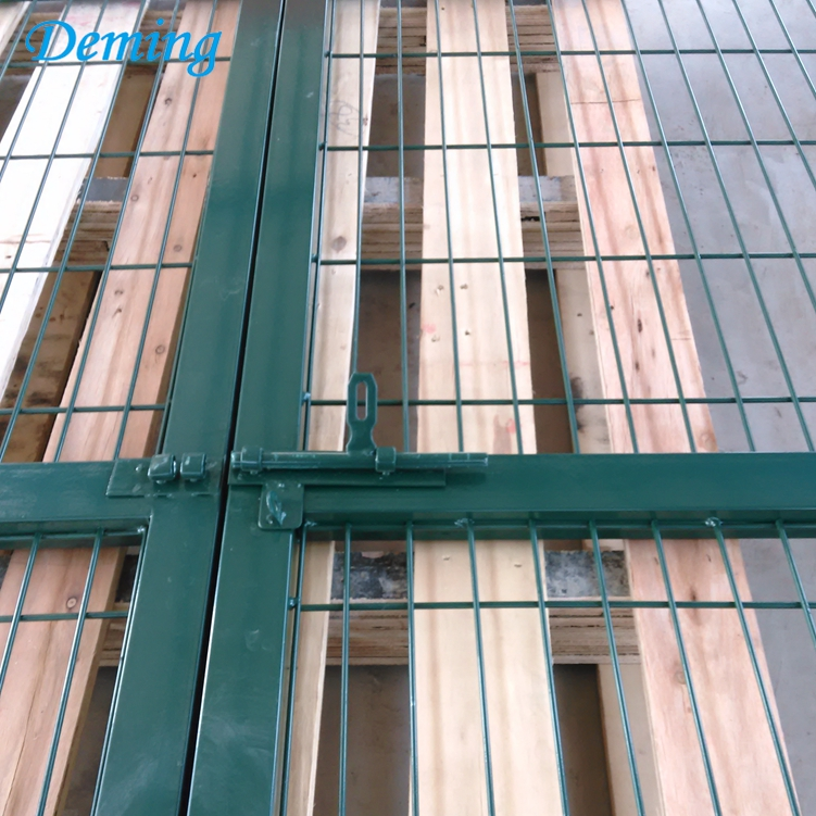 weld wire mesh security fencing gate for garden