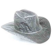 Plastic cheap waterproof rain hat