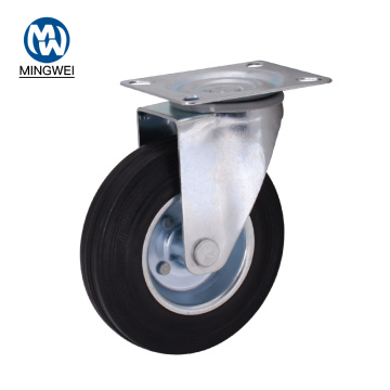 5 Inch Swivel Rubber Casters