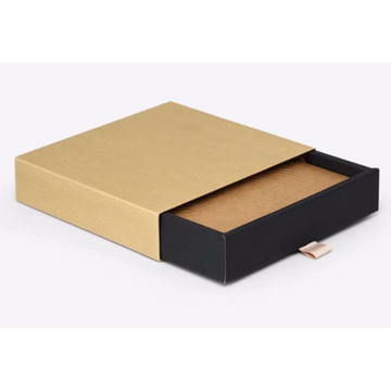Gift Candy Drawer Packaging Boxes With Ribbon Tie