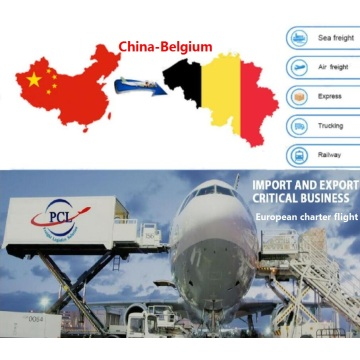 Europe air freight in Belgium LGG airport