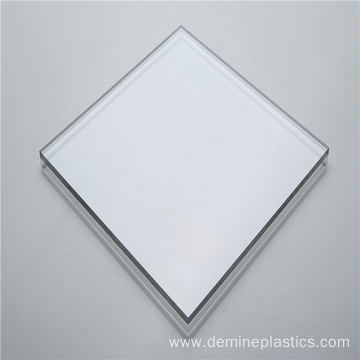Transparent solid polycarbonate board plastic panel