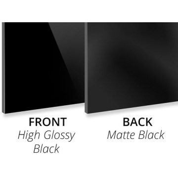 3MM High Gloss Black/Matte Black Aluminum Composite Panel
