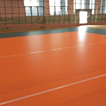 Enlio PVC Indoor Volleyball flooring mat with ITF