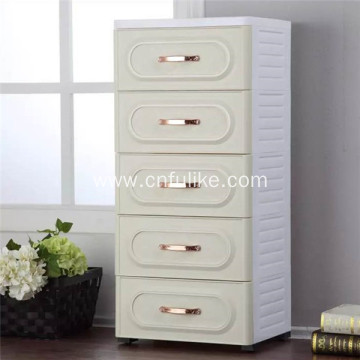 Colorful Drawers with 2 Locking Drawer Storage Cabinet