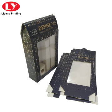 Custom Printed PVC Box Packaging Boxes with Window