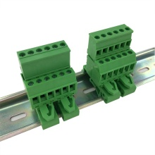 Din rail mounted type Vertical Pluggable terminal block