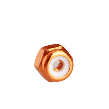 aluminum alloy nylon self-locking nut