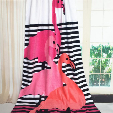 wholesale colorful beach towels with zip pocket