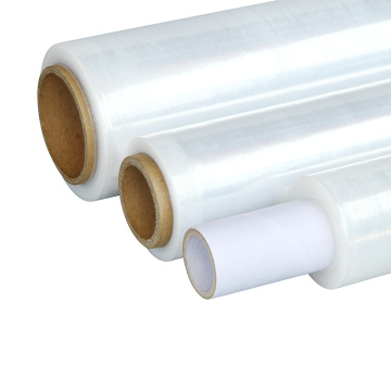 Stretch film plastic wrapping