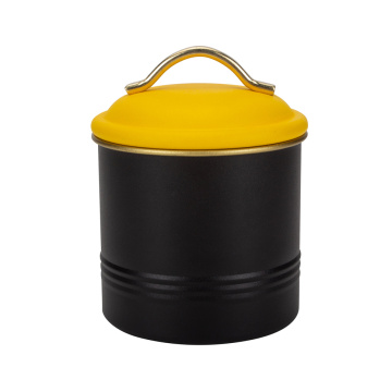Storage Box Yellow Lid Q External