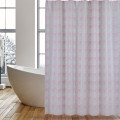 Shower Curtains PEVA Pink Leaves