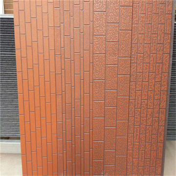 Metal insulation polyurethane sandwich panels