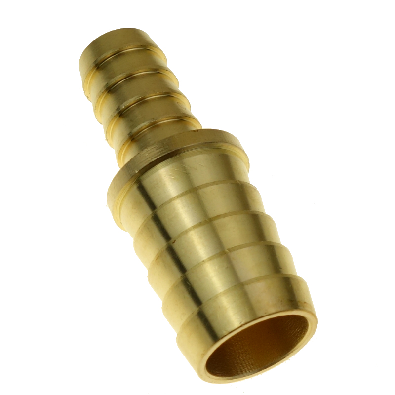 """Brass Barb Hose ID Splicer Fitting Reducer /Equal Connector For Hose ID 6 8mm 1/8"""" 1/4"""" 3/8"""" 3/16"""" 5/16"""" 1/2"""" 3/4"""""""