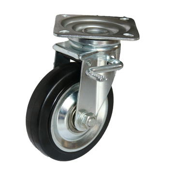 Double Bearing Medium Heavy Duty Stem Casters
