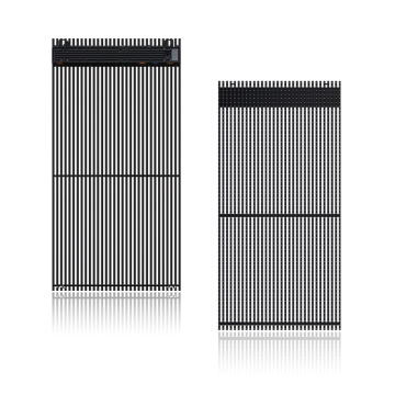 Window display of building facade LED Grille screen