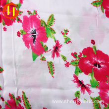 Famous brand soft korean chiffon printed fabric