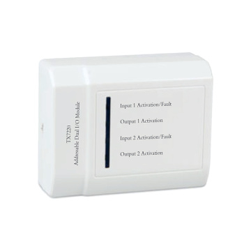Addressable Dual Input-output Module For Fire Alarm