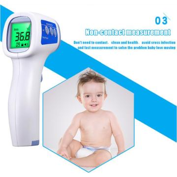 Infrared forehead human body safety thermometer gun medical