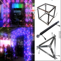 Geometric Aluminum RGB Led 3D Triangle Bar