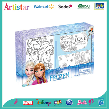 DISNEY FROZEN colouring your own bags set