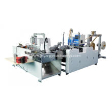 Paper twisted handle pasting machine