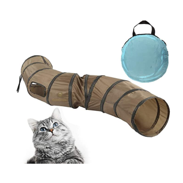 Collapsible Cat Tunnel with Steel Frame