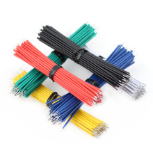 24AWG 8cm Tin-Plated Jumper Wire Cable Connect PCB Breadboard Solder Cable Copper Jumper Cable Connector PCB Fly Wire 8cm 24AWG