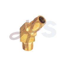 Brass 45 degree male elbow