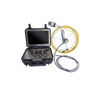 Drain Pipe Sewer Pipeline Inspection Camera Video
