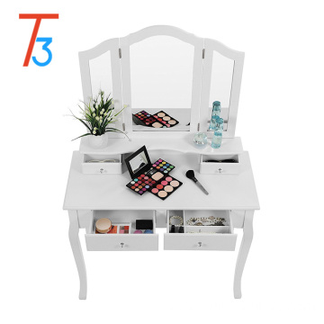 white mirror drawers dressing tables bedroom designs set