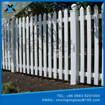 Pvc plastic lawn edging fence short fence