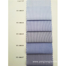 Business Casual Style Cotton Striated Shirt Fabric